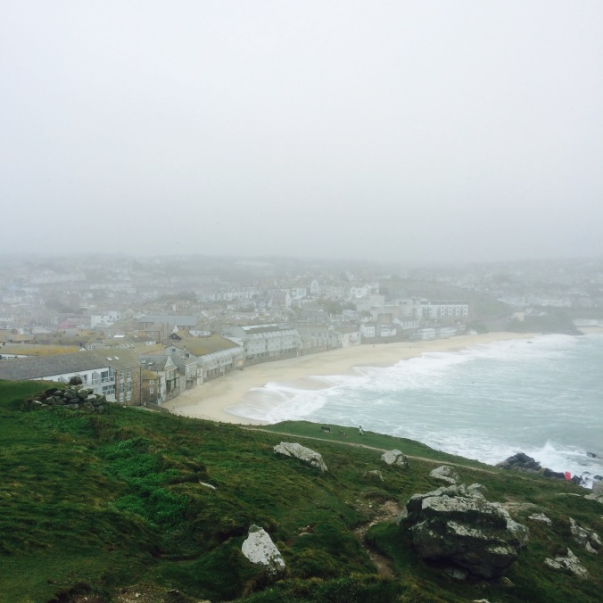 Island view of St Ives