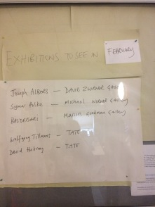 Exhibitions to see