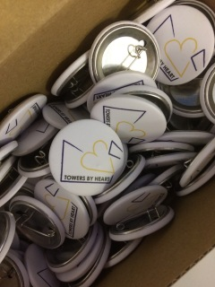 Towers by heart badges