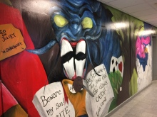 Child jabberwocky English corridor
